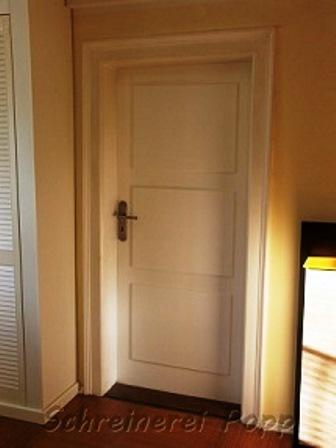 Ehemals glatte Türen