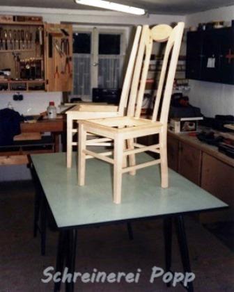 Stühle aus Ahorn