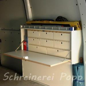 Radkastenschrank T5 Transporter