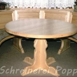 Tische und Stühle - Eckbank mit Tisch